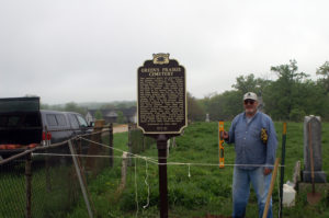 Setting the Historical Marker